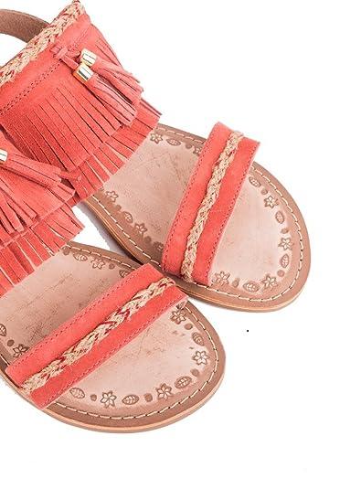 81e73fdab KOALA BAY - Sandalia Pala Tobago Coral - 41  Amazon.es  Zapatos y  complementos