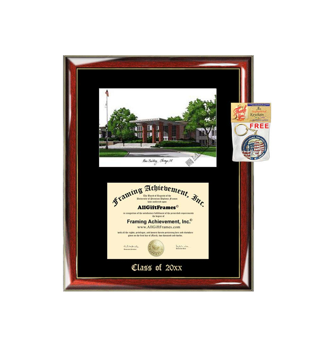 Amazon com: Saint Xavier University Diploma Frame Emboss Lithograph