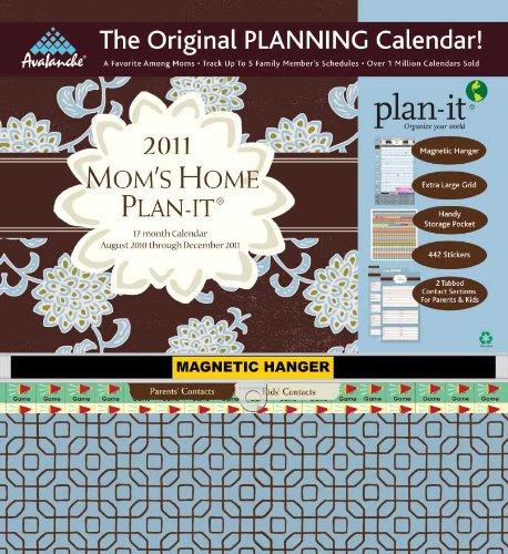 Home 2009 Wall Calendar (2011 Mom's Home Plan-It Plan-It Plus Calendar)