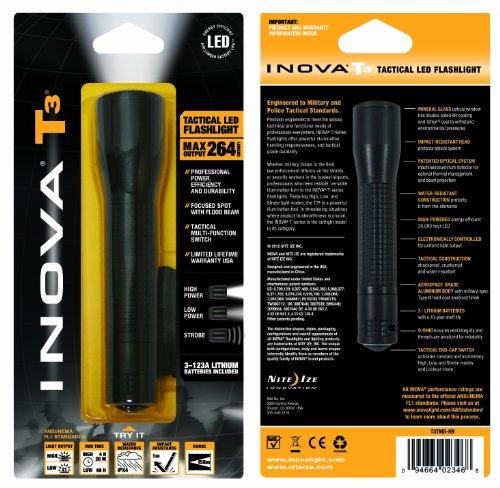 Inova T3TMB-HB T3 Lithium Powered LED Flashlight