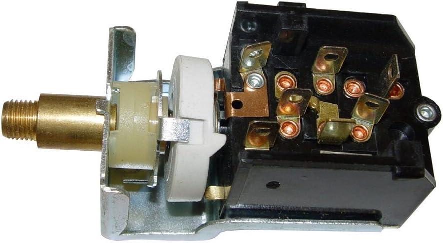 Omix-Ada 13318.06 Black Headlight Switch Knob for 72-83 Jeep Cherokee//CJ5//CJ7