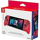 Hori Nintendo Switch Split Pad Pro (Red) Ergonomic Controller for Handheld Mode - Officially Licensed By Nintendo - Nintendo
