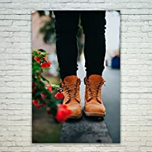 Westlake - Poster Print Wall - Shoe Boot - Modern Picture Photography Home Decor Office Birthday Gift - Unframed - 12x18in (od9 264)