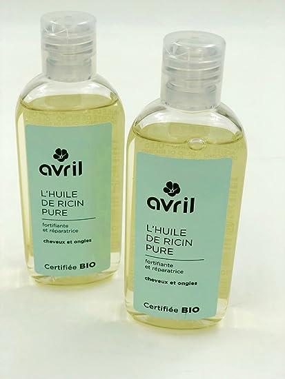 Lote de 2 botellas de aceite de ricino Pure – certificado Bio – 2 x