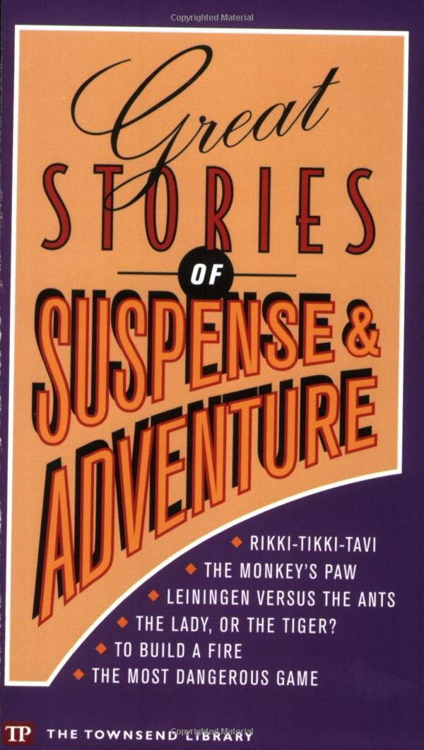 Great Stories of Suspense and Adventure (Townsend Library) PDF