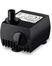 VicTsing 80 GPH (300L/H) Water Pump Submersible Pump for Pond, Aquarium, Fish Tank Fountain Water Pump Hydroponics System with 5.9ft Power Cord-New Version