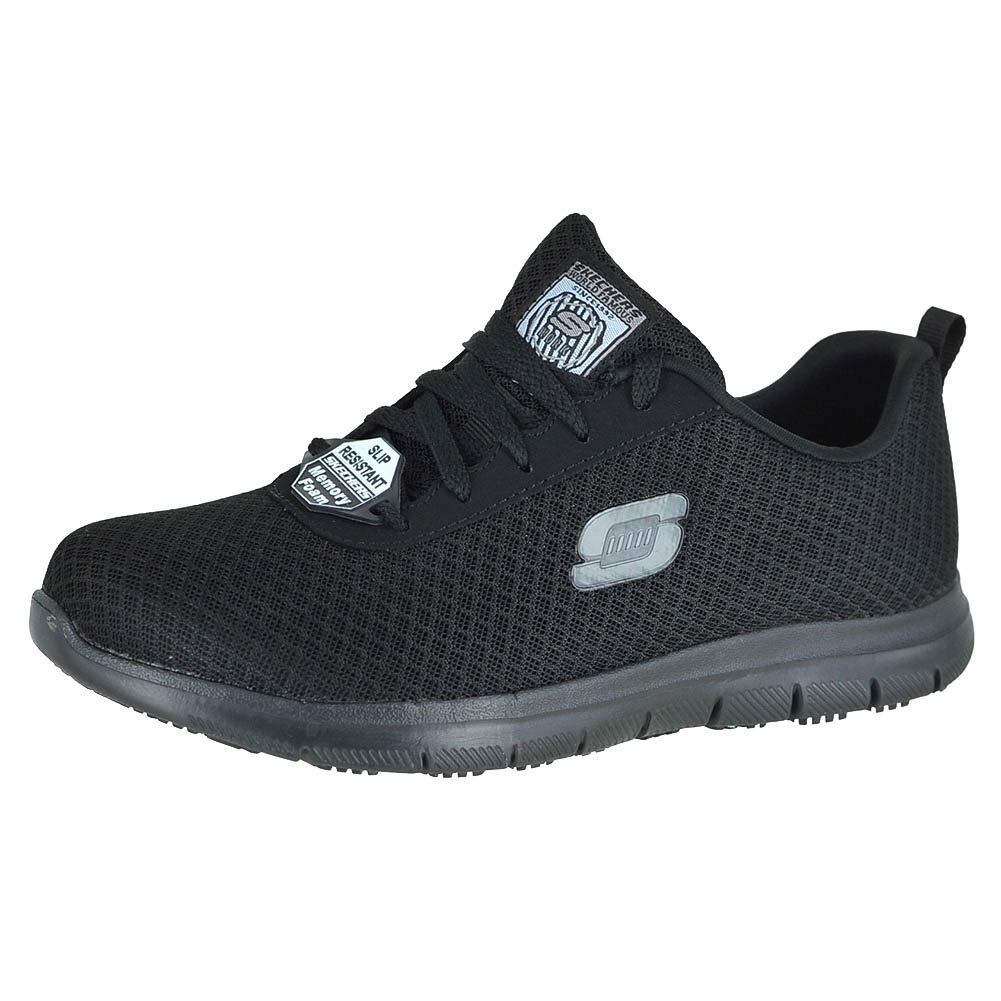b7eb788359 Amazon.com | Skechers for Work Women's Ghenter Bronaugh Work and Food  Service Shoe | Running