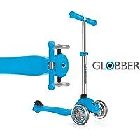 Globber - Primo 3-Wheel Kids Kick Scooter - Adjustable Height T-Bar - Comfort Handlebar Grips - for Boys and Girls