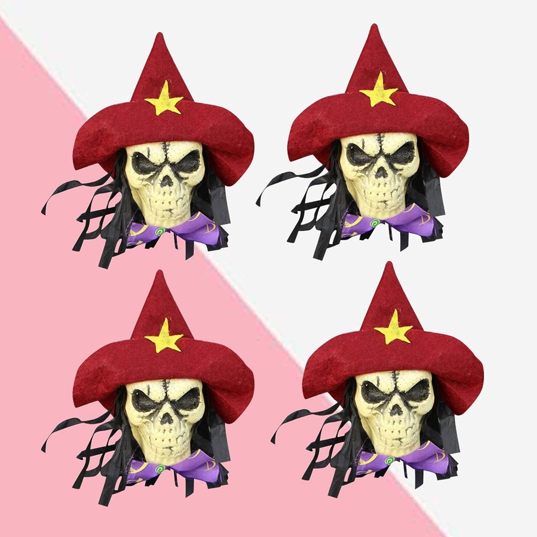Amazon.com: Halloween Hanging Skulls Halloween Home Garden Yard Bar ...
