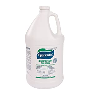 Contec Sporicidin Disinfectant Solution - 1 gallon