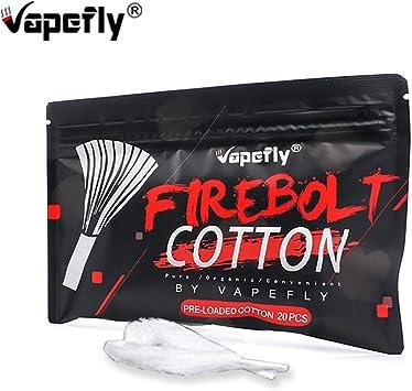 Vapefly Firebolt Cotton Wick Material 100% Algodón orgánico para ...