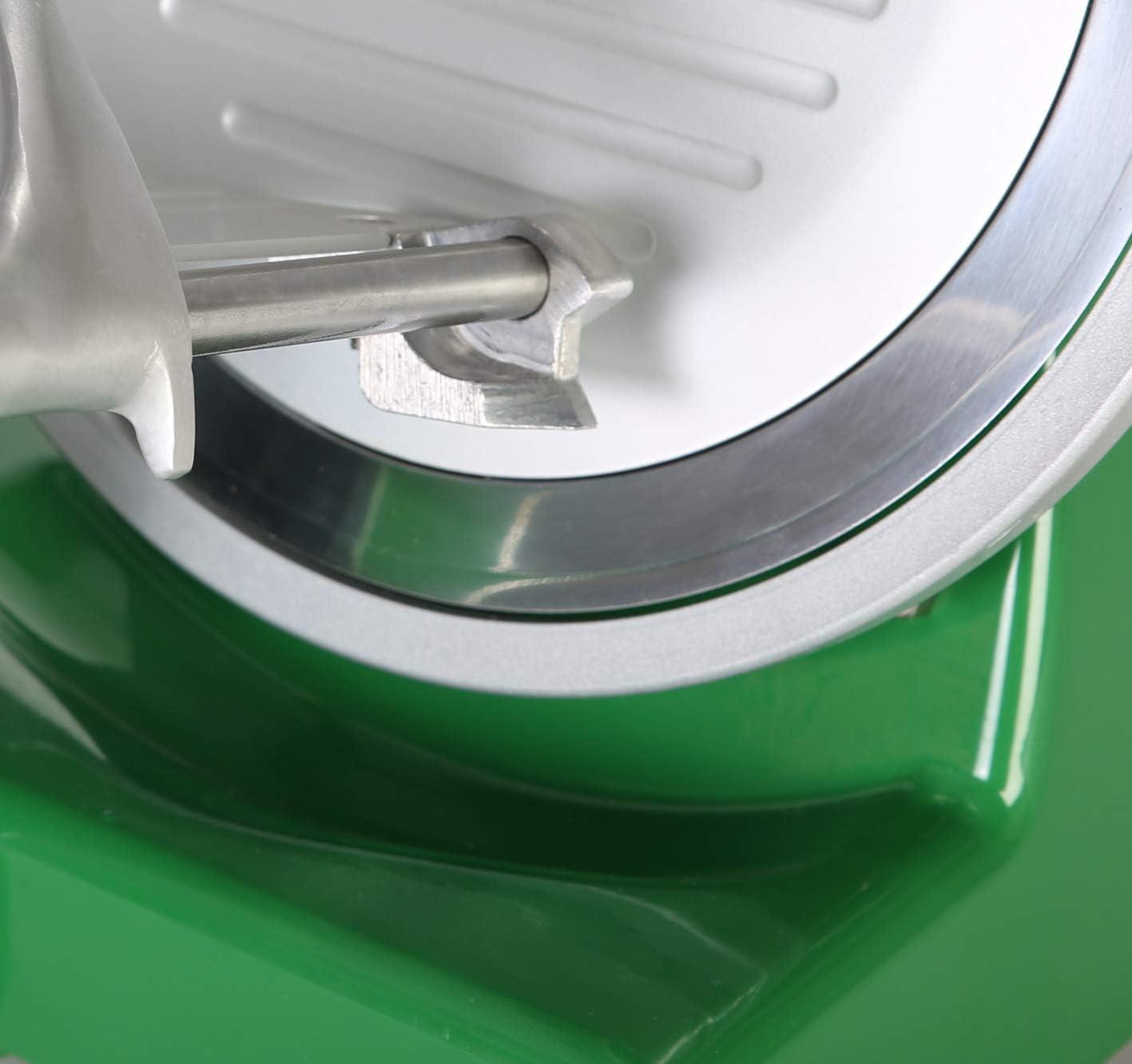 Color argento RGV Lusso 195 GL Affettatrice Diametro 19.5 cm