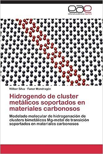 Hidrogendo de cluster metálicos soportados en materiales carbonosos (Spanish Edition) (Spanish)