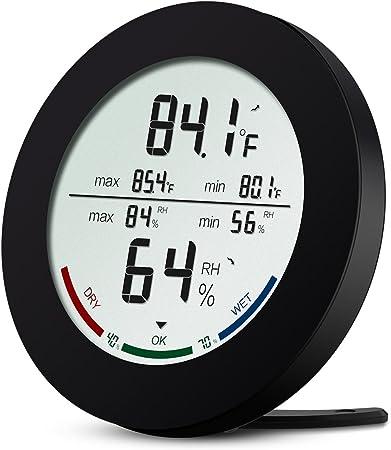 Digital LCD Humidité Hygromètre Température Thermomètre intérieur//extérieur UK