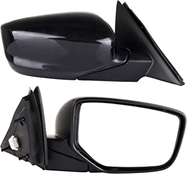 ECCPP Towing Mirror Compatible for 2008-2012 Honda Accord Sedan Power-Adjusting Manul-Folding Right Passenger Side Mirror