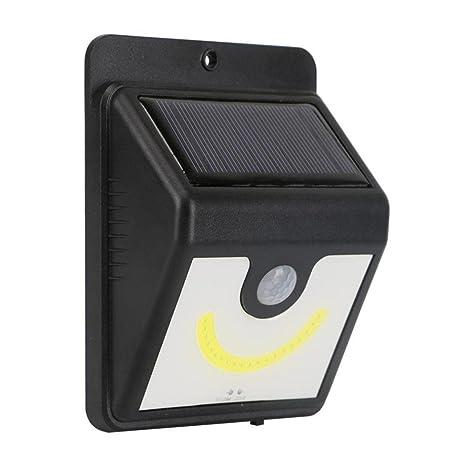 somesun 4pc LED lámpara de exterior para jardín con sensor de movimiento de energía solar luz