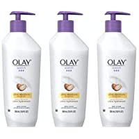 Body Lotion by Olay, Quench Ultra Moisture with Shea Butter, 11.8 fl oz (Pack of 3)