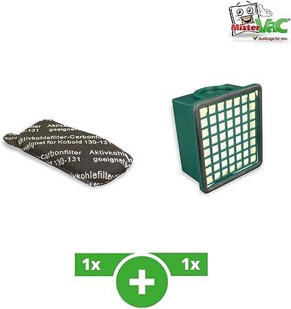 : Filter Set geeignet für Vorwerk Kobold VK 130