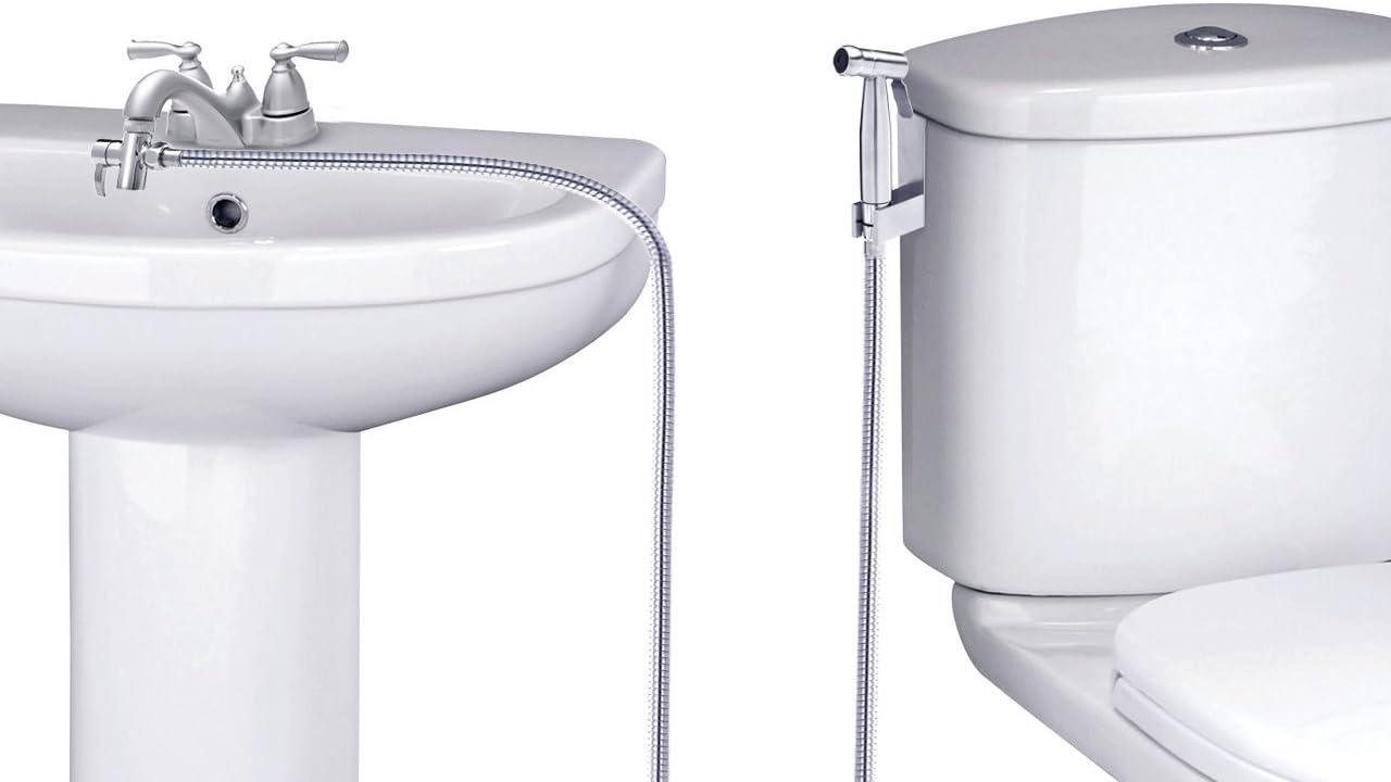 Details about  /Bidet Faucets shower bidet tap mixer bidet spray hygienic shower wall mount