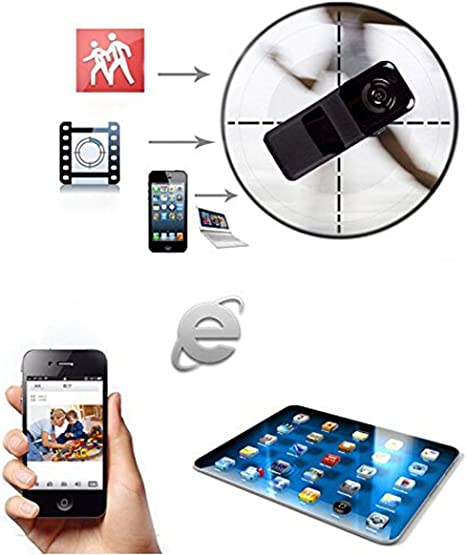 For Android Phone PC Mini Wifi IP Wireless Surveillance Camera Remote Cam ##