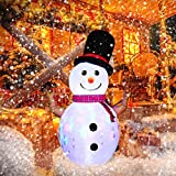 AsterOutdoor 8ft Christmas Decorations Rotating