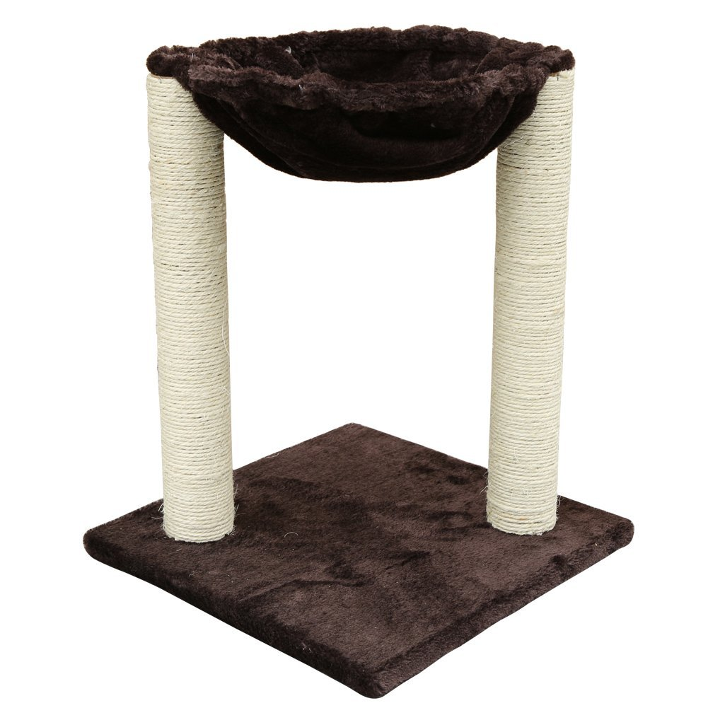 """20"""" Action Club Scratching Post Cat Tree with Hammock Bed"""