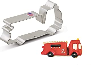 """product image for Ann Clark Cookie Cutters Firetruck Cookie Cutter, 5"""""""