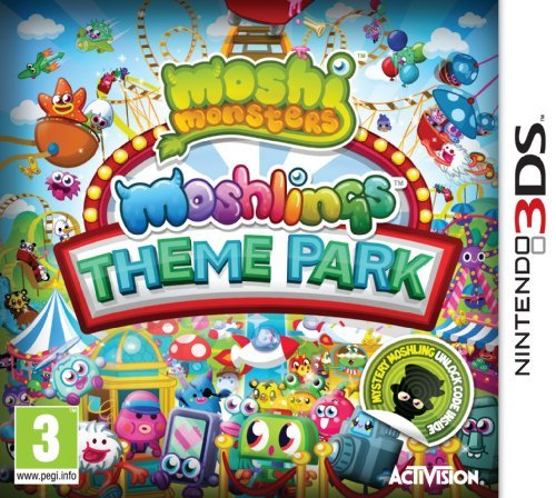 Moshi Monsters: Moshlings Theme Park (Nintendo 3DS) by ACTIVISION