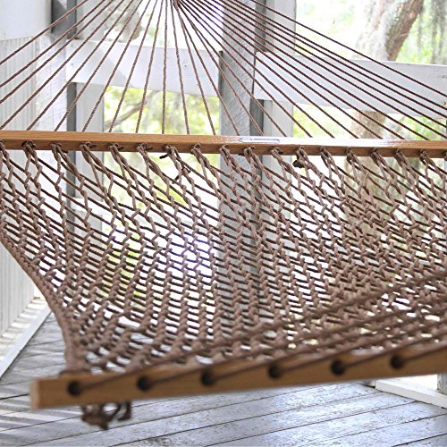Pawleys Island Presidential Original DuraCord Rope Hammock - Antique Brown