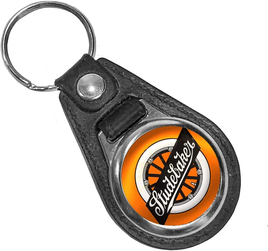 VINTAGE SIGN DESIGNS Premium quality faux leather AC Shelby Cobra key ring//key fob