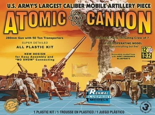 Amazon Com 857811 1 32 Atomic Cannon Toys Games