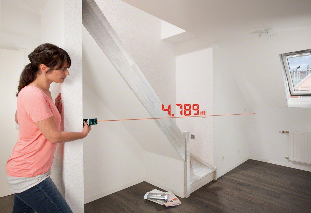 2 pilas AAA, alcance: 0,05-30 m, en cart/ón Bosch PLR 30 C Medidor de distancias l/áser digital