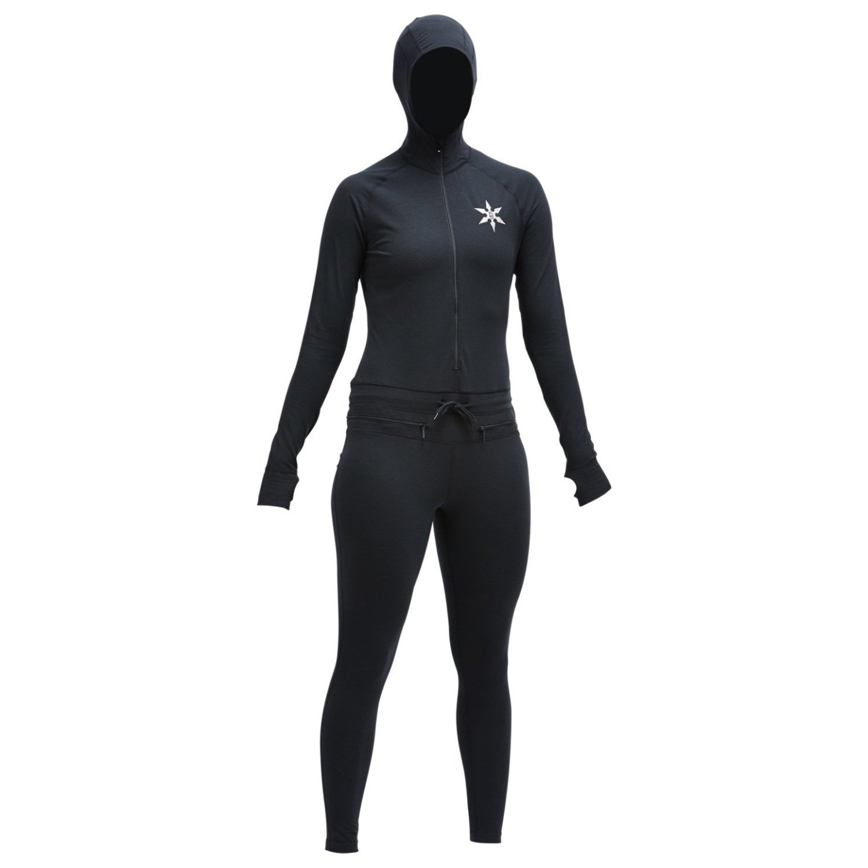 Airblaster Women's Classic Ninja Suit - Black - XS by AIRBLASTER (Image #1)