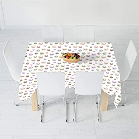 Mantel Impreso, decoración de Pavo Real, para Mesa Rectangular ...