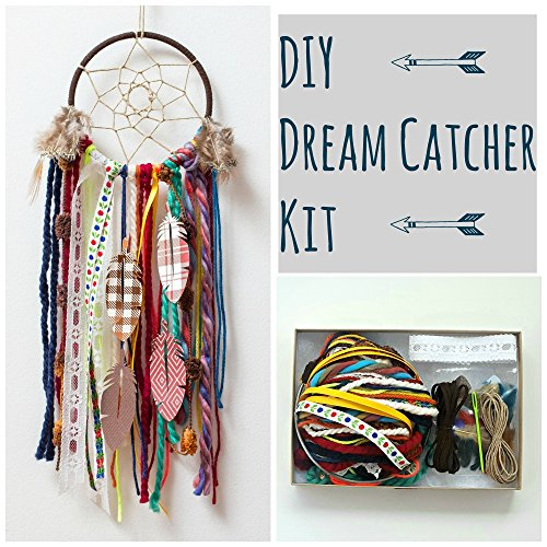 Make your Own DIY Dreamcatcher Craft Kit Project. Do It Yourself Dream Catcher Kit By The House Phoenix.