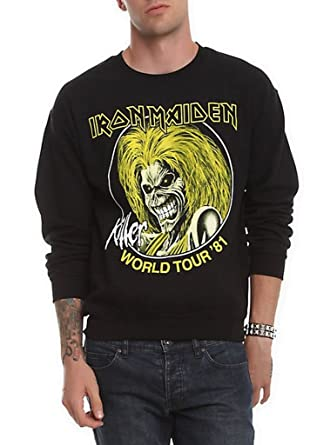 Ill Rock Merch Iron Maiden Killer World Tour 81 Sudaderas: Amazon.es: Ropa y accesorios