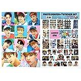 KPOP Wanna One A3 Official Photo Poster Sticker Set Various 12 Sheets Bromide (ver.2)