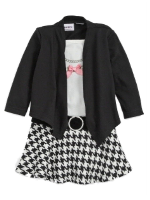Amazon.com: Youngland Infant &amp- Toddler Girls Pink &amp- Black Dots ...