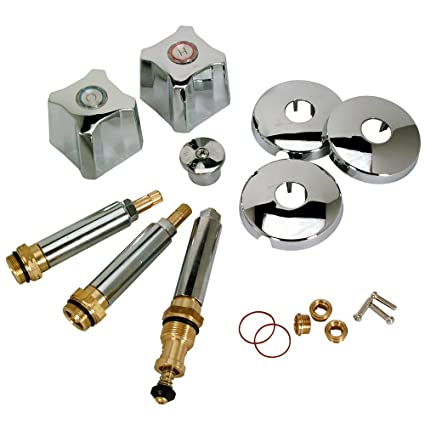 Kohler Three Handle Shower Faucet.Brasscraft Sk0188 Tub And Shower Faucet Rebuild Kit For