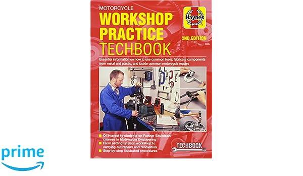 motorcycle workshop practice techbook haynes manuals john haynes rh amazon com Ford Workshop Manuals Chamberlain Garage Door Opener Manual