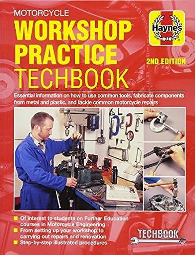 motorcycle workshop practice techbook haynes manuals john haynes rh amazon com Ford Workshop Manuals Craftsman Garage Door Opener Manual