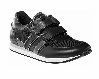 a531d6165a6b8 Hugo Boss Kids Black Velcro Trainers 38 (Euro)  Amazon.ca  Shoes ...