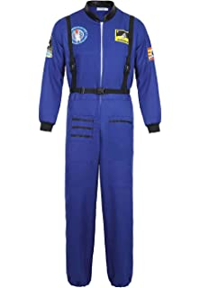 Amazon.com: frawirshau Adult Astronaut Costume Women Space ...
