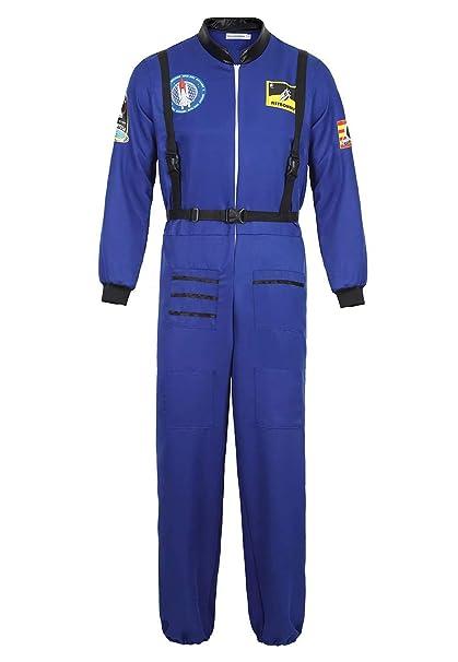 aizen Disfraz Astronauta Adulto para Hombre Halloween Carnaval ...