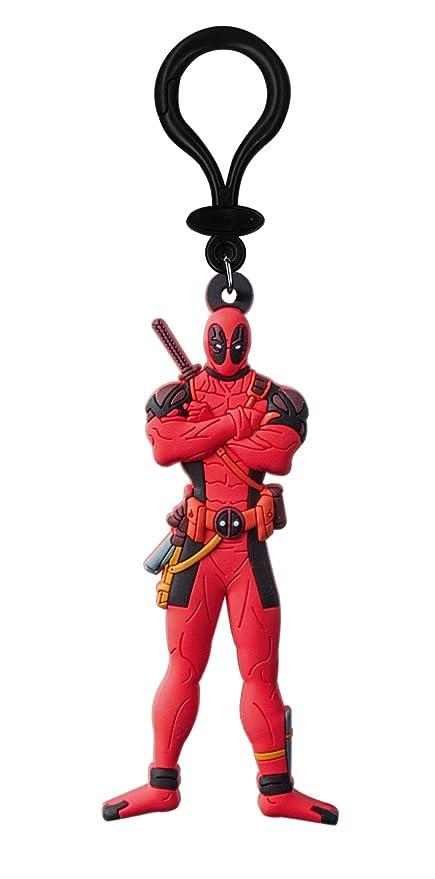 Amazon.com: Marvel Deadpool tacto suave PVC Llavero Figura ...