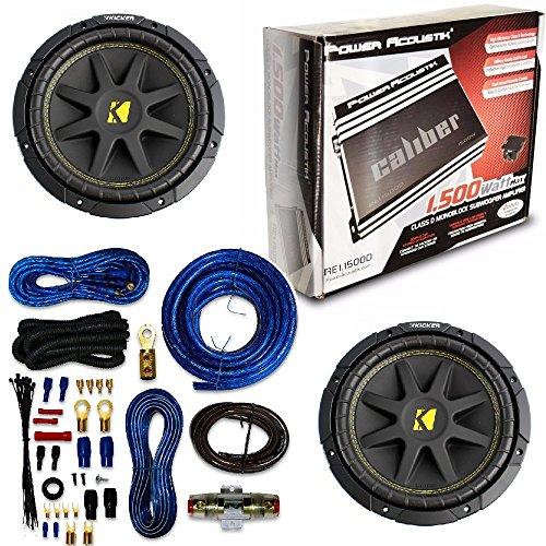Amplifier Power Acoustik Re1 1500d 1 Ch Clase D 1500w Max W/