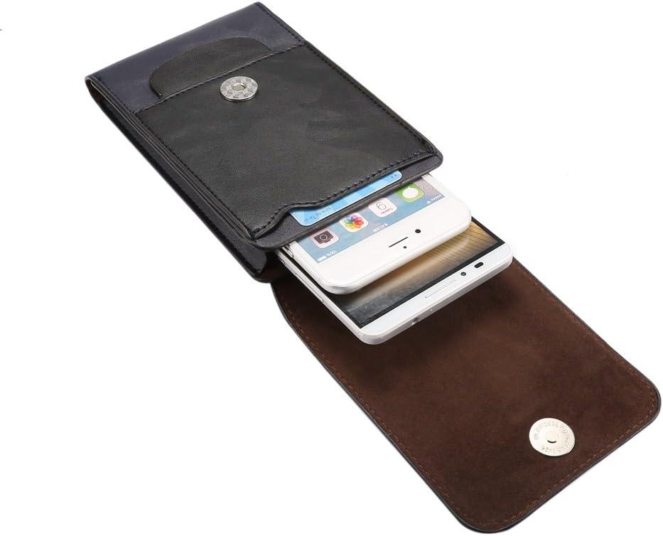 SITCO Pochettes Ceinture Pochette Grandes /étuis en Cuir pour t/él/éphone Portable /Étui Compatible iPhone 11 Pro X XS Max XR 7 8 6 6s Plus Samsung Galaxy S10 S9 S8 Plus