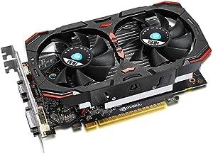 Aceyyk Gaming GPU GeForce GTX 750 Ti 2 GB,FTW DVI-I/HDMI/Display Port GDDR5 Graphics Card with ACX Cooling 128bit 5400MHz