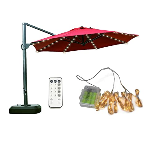 Patio Umbrella Lights, Koffmon 8 Lighting Mode 104 LED With Remote Control Umbrella  Lights Battery