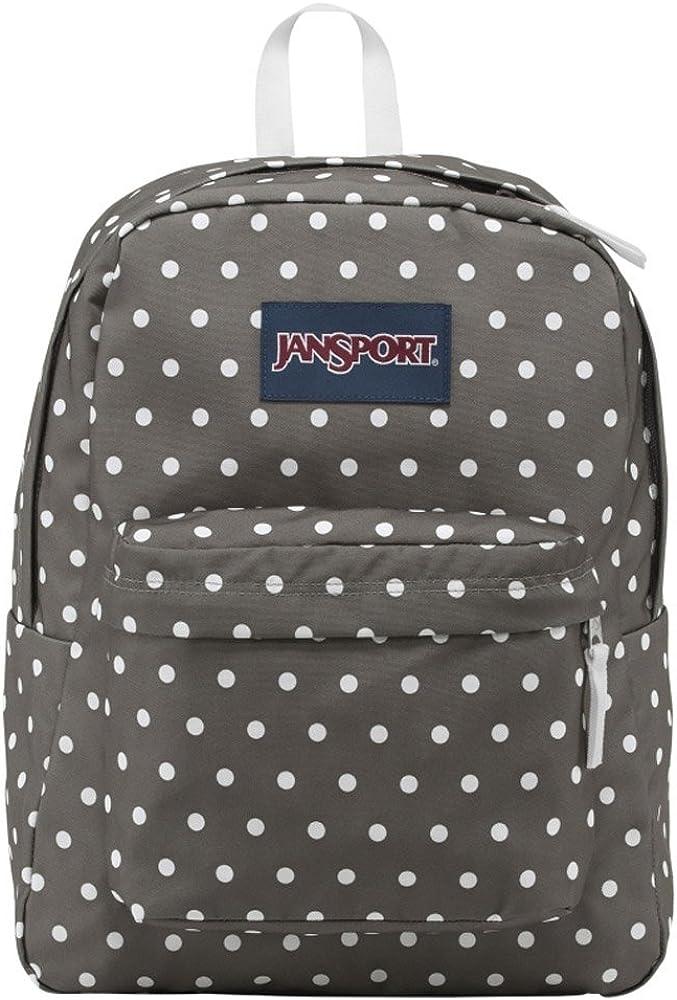 JanSport Backpack Shady Grey White